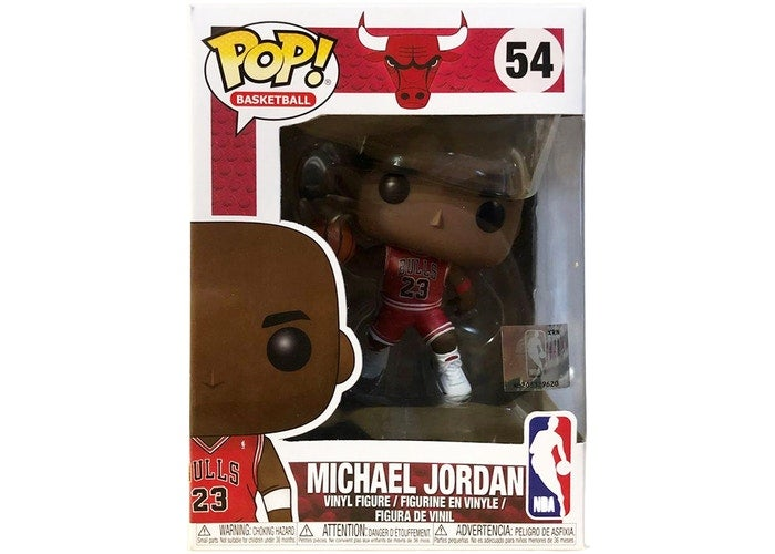 Image of Funko Pop! Michael Jordan NBA Chicago Bulls #54