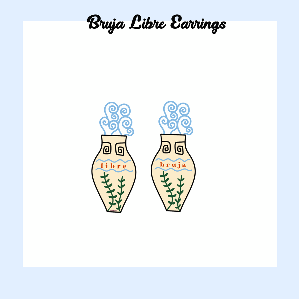 Image of Bruja Libre stud earrings