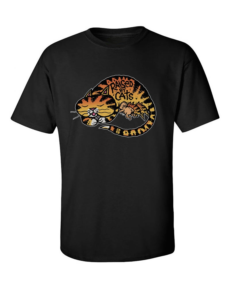 Image of Raised By Cats Unisex t-shirt