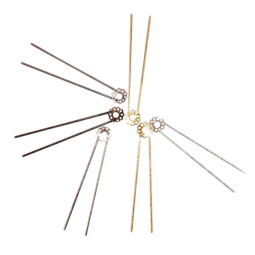 Image of ÉPINGLE A CHEVEUX FLEUR / HAIR PIN FLOWER