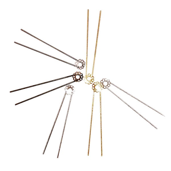 Image of ÉPINGLE A CHEVEUX FLEUR / HAIR PIN FLOWER