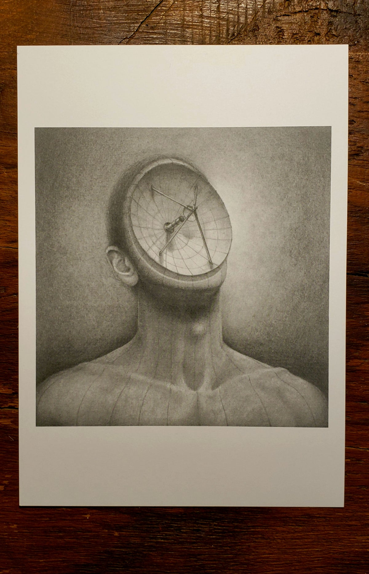 Image of Ego - print of original graphite drawing