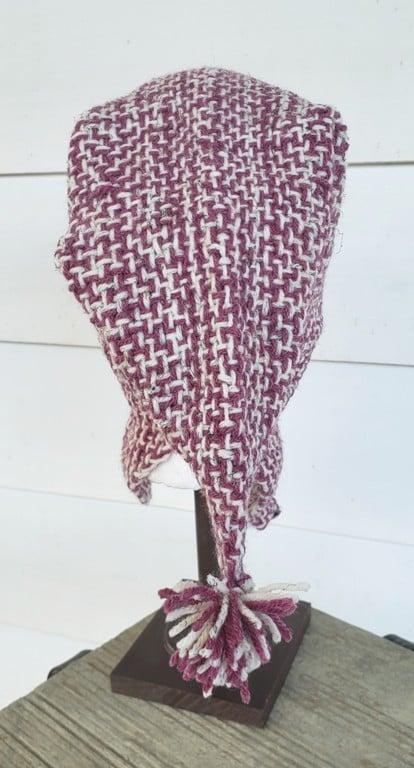 Image of Wheaten Rose, handwoven hat