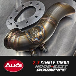 Image of PROJECTB5 - 2.7 STK Hood-Exit Downpipe