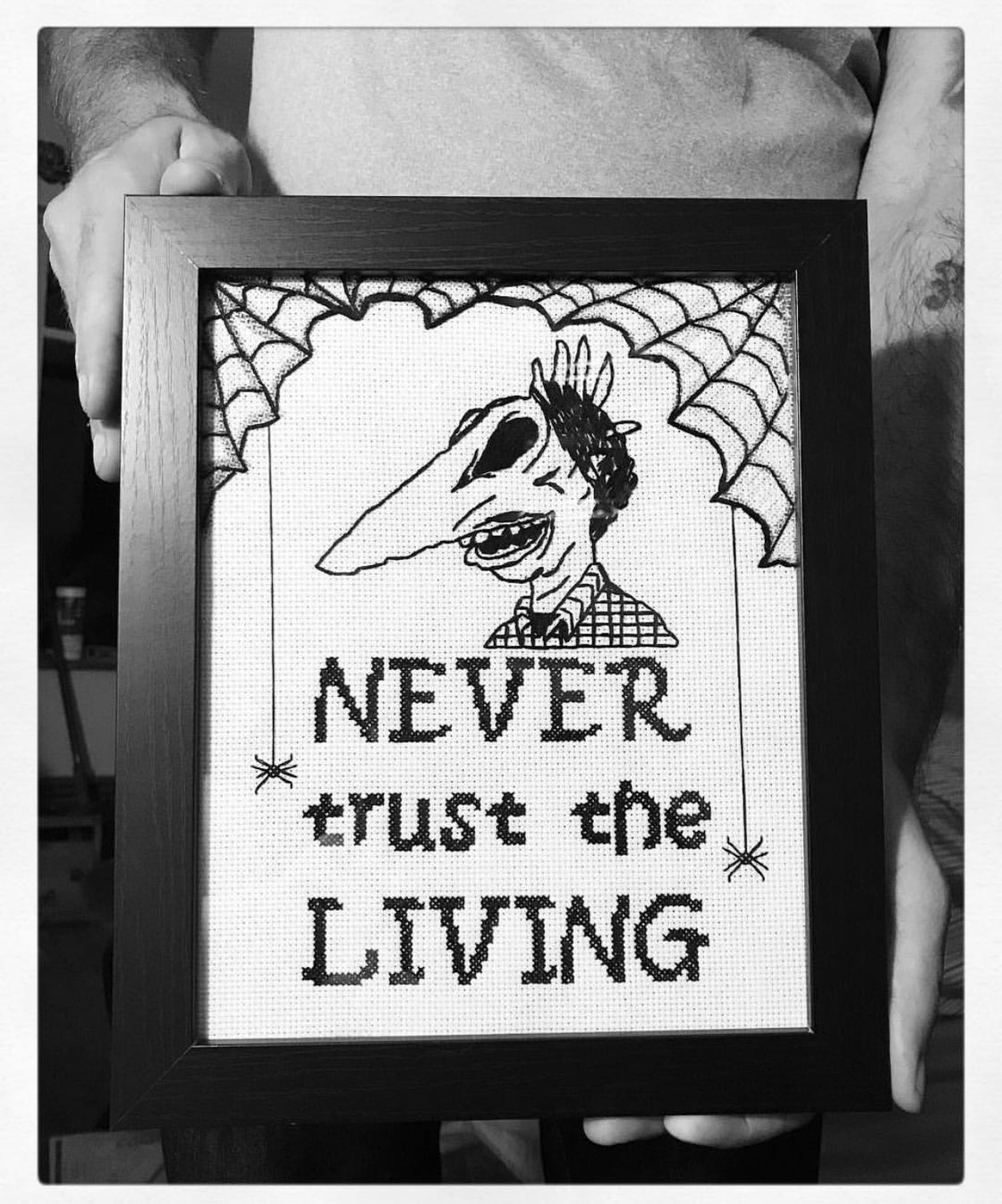Image of Never trust the living