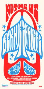 Image of Bernie Sanders / The Black Angels / Molly Burch Austin 2020