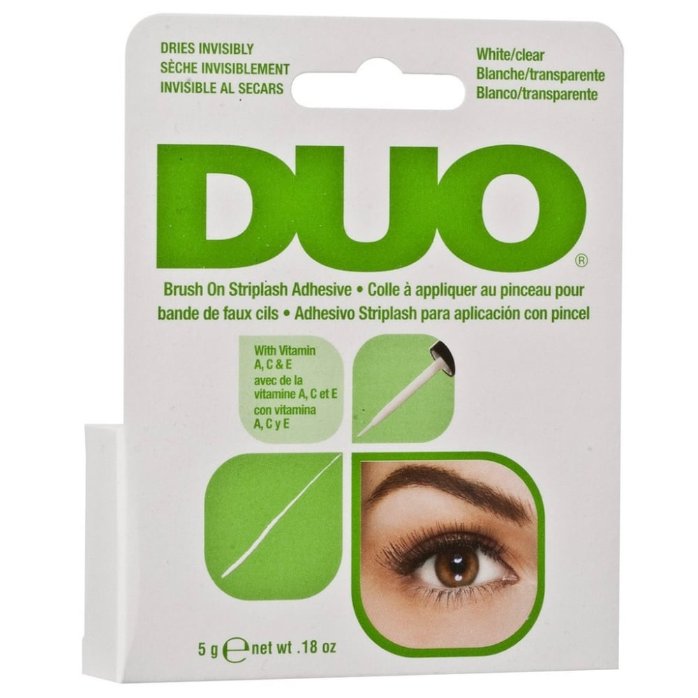 Image of Duo Striplash Adhesive White/Clear (7g) NO LATEX