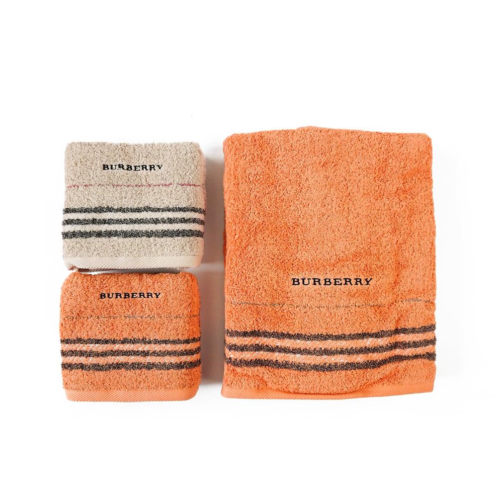 Image of Burberry London Towel Set
