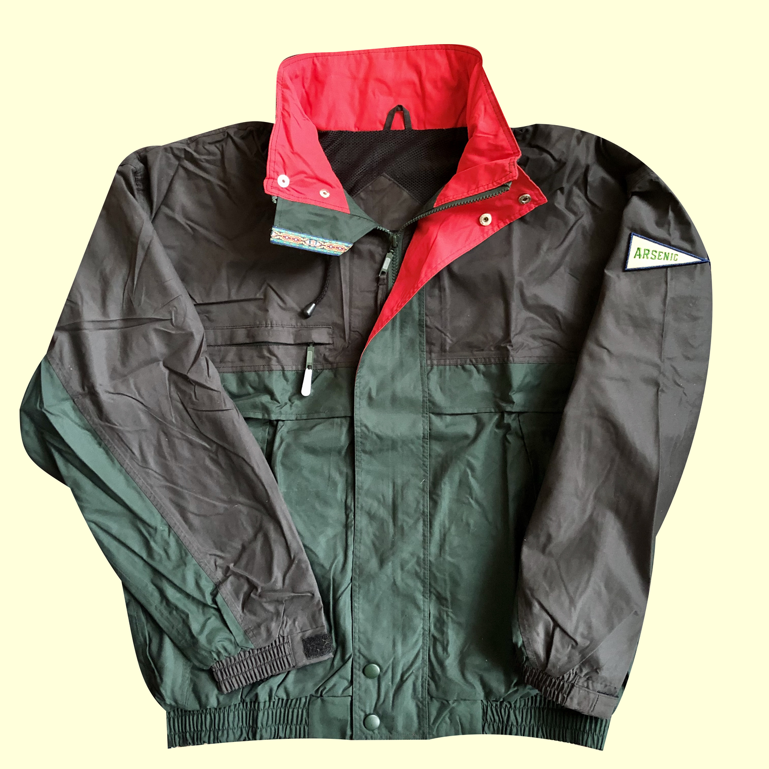 Image of Adventure Coat (Forest/Black)