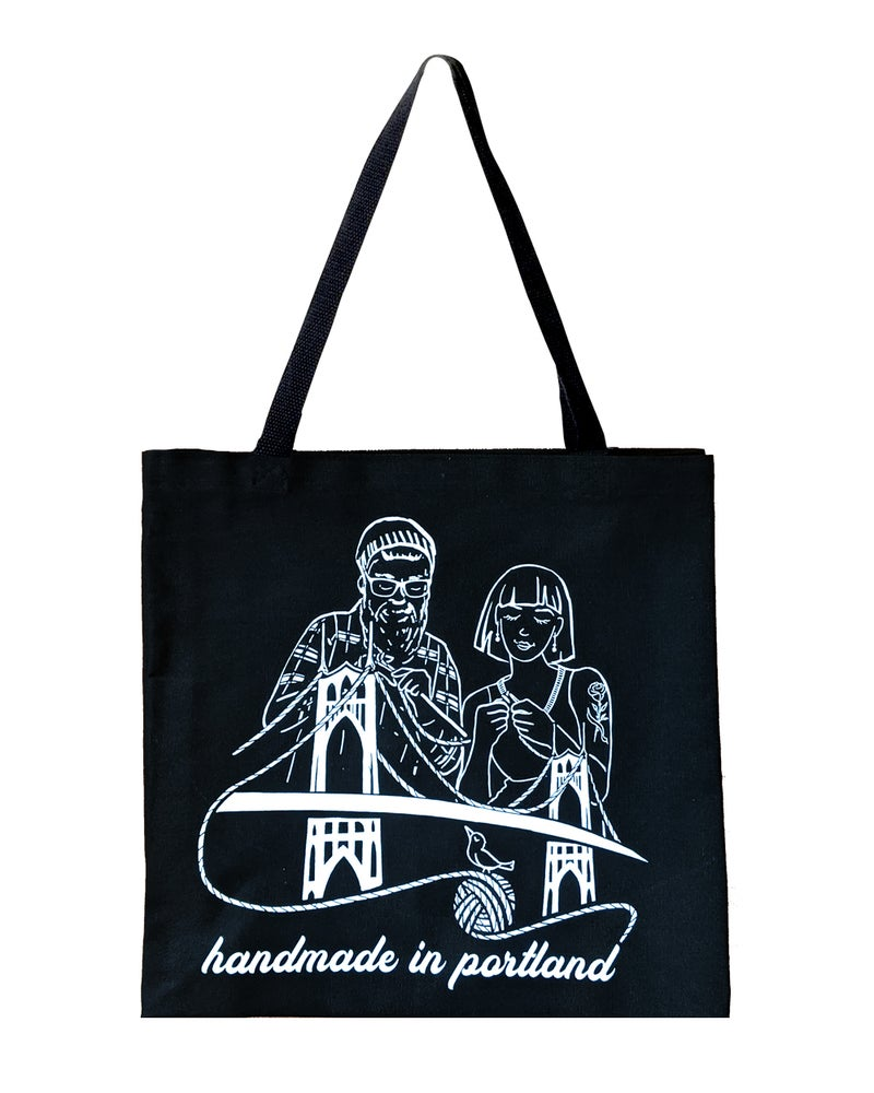 Image of Handmade in Portland Tote