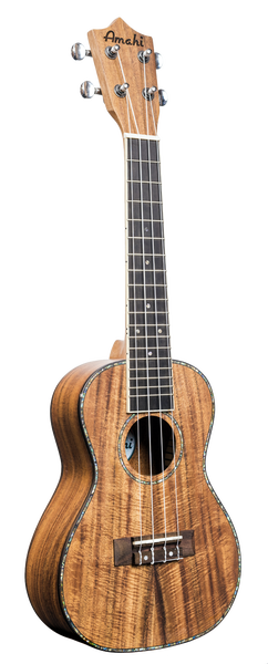 Image of Amahi Koa Concert, Model UK-660C