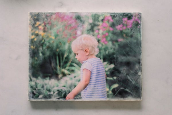 Image of Custom Encaustic Photography Print