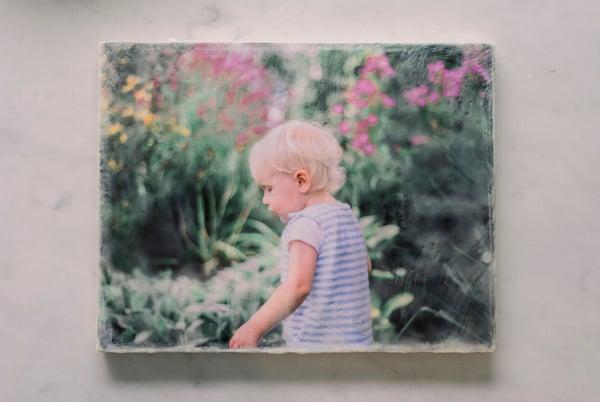 Image of Custom Encaustic Photography Print