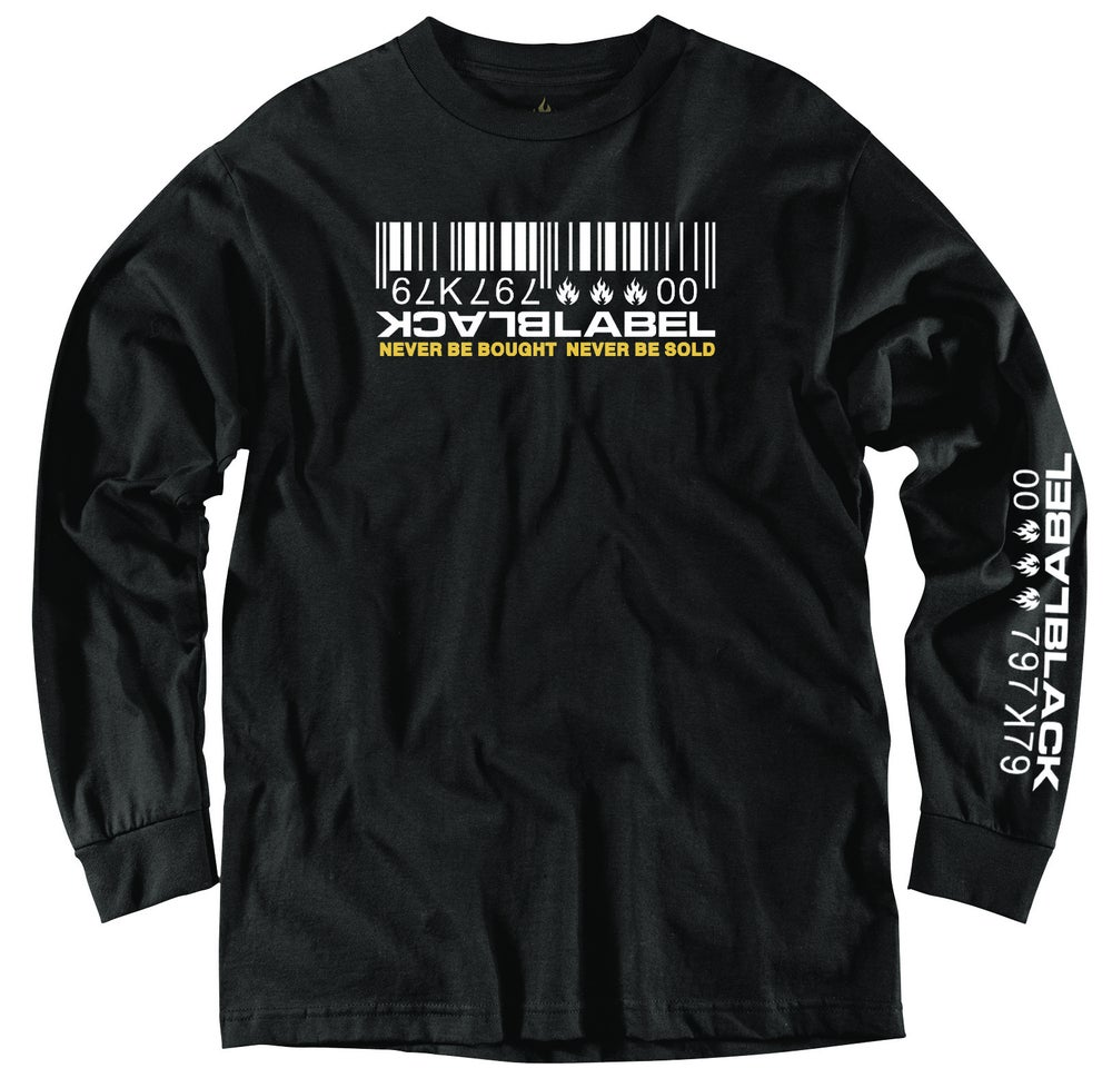 "Image of ""Barcode"" Long Sleeeve Tee"
