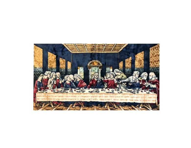Image of The Last Supper Rug