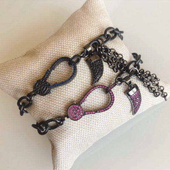 Image of Shark Tooth Chain Bracelet