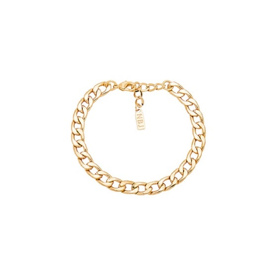 Image of Gold Thick Link Anklet
