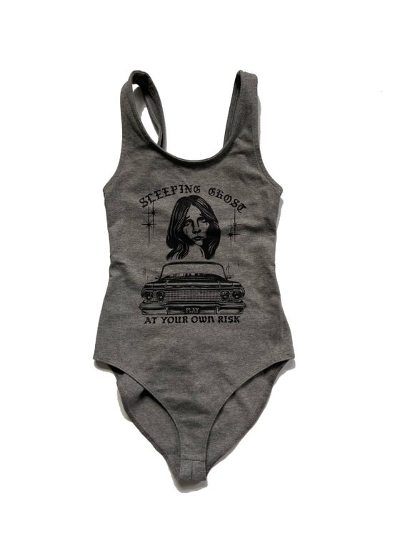 Image of PLAY AT YOU OWN RISK BODYSUIT
