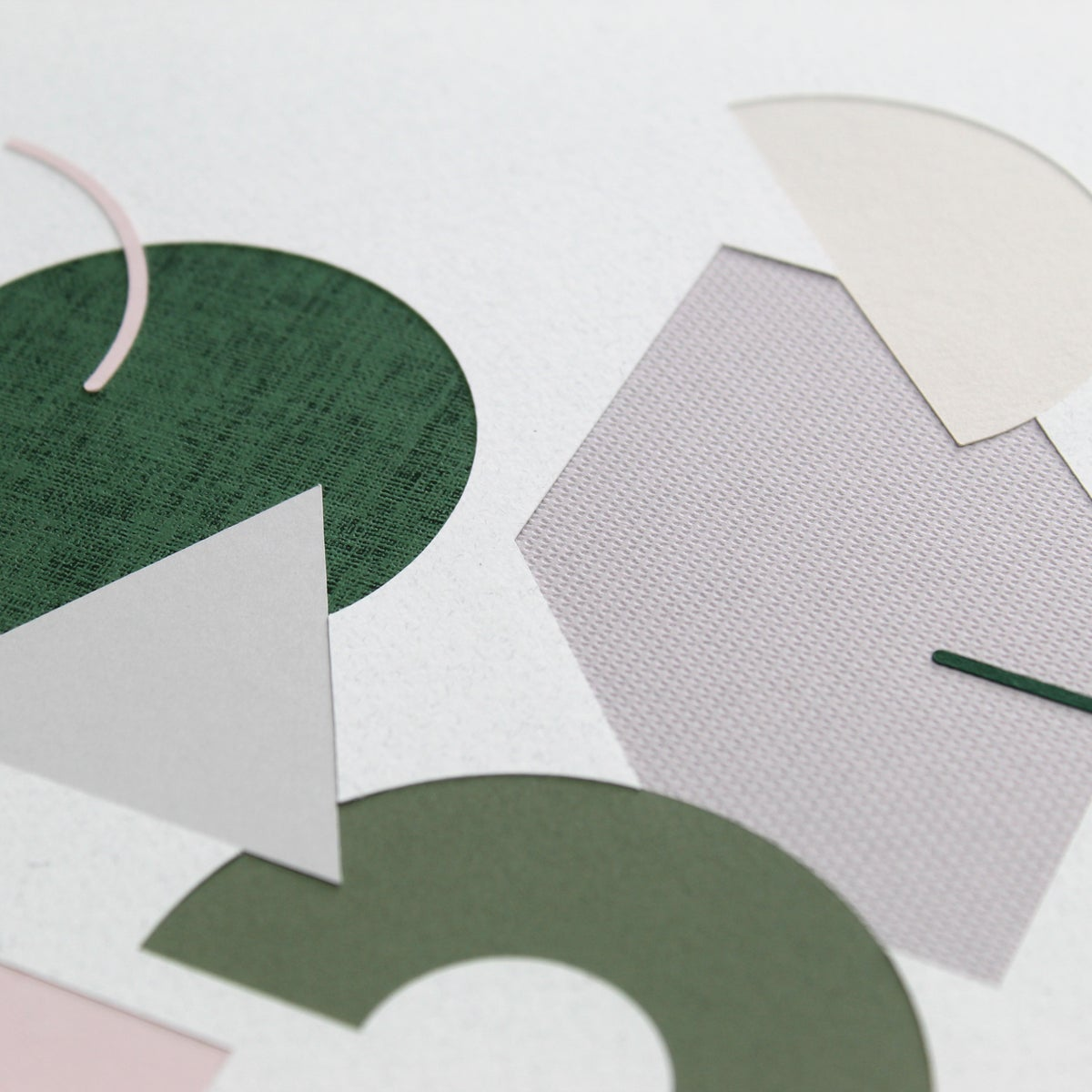 Shape Play Papercut - Green