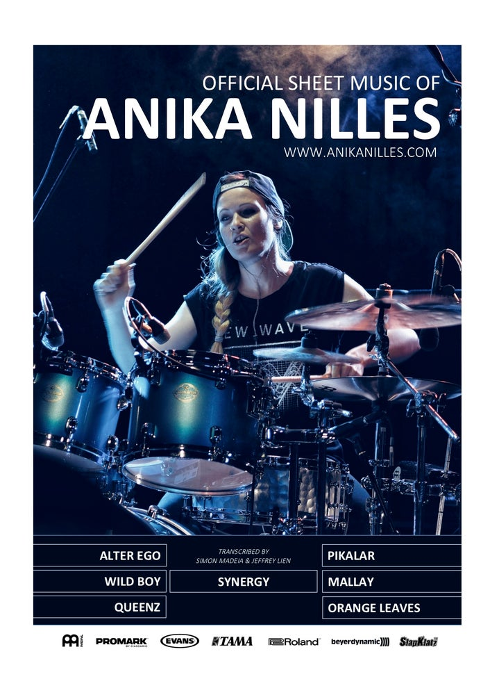 Image of Official Sheet Music of Anika Nilles - signed copy