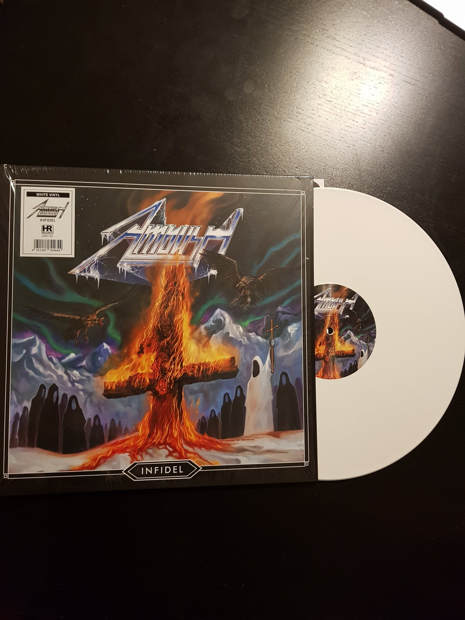Image of Infidel - LP WHITE