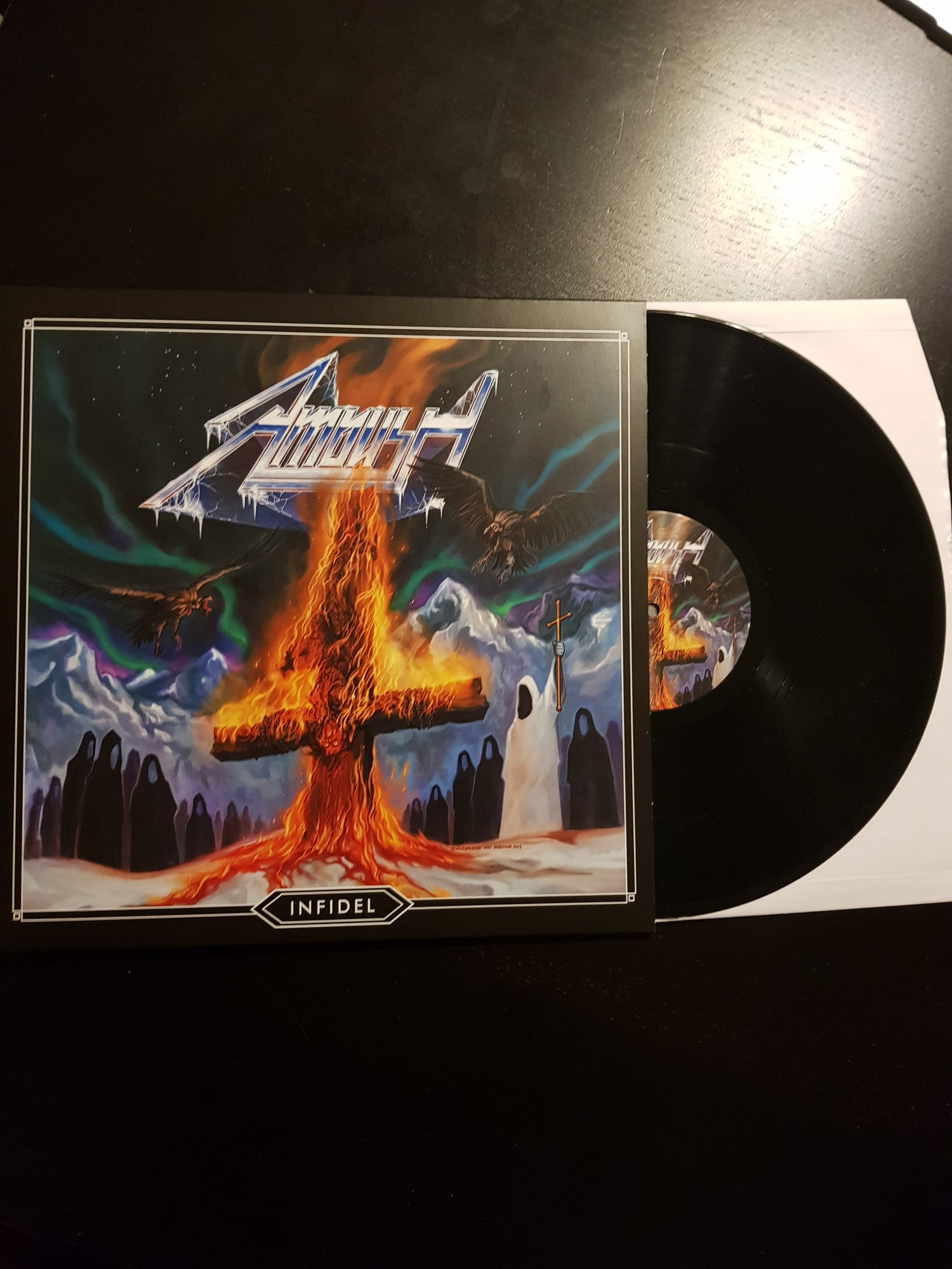 Image of Infidel - LP BLACK