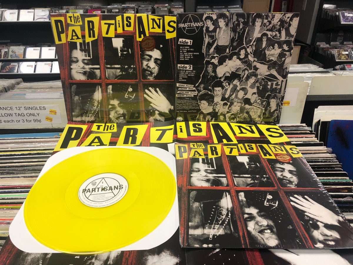 Image of Partisans s/t LP Yellow vinyl limited to 50 - Generation Records exclusive