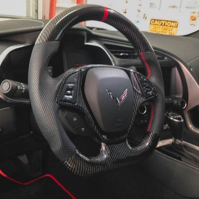 Image of C7 Oem Carbon Steering Wheel