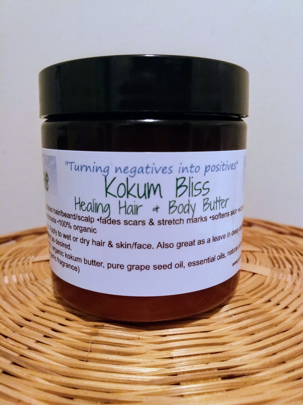 Image of 👑Kokum Bliss (Healing Hair & Body Butter)👑