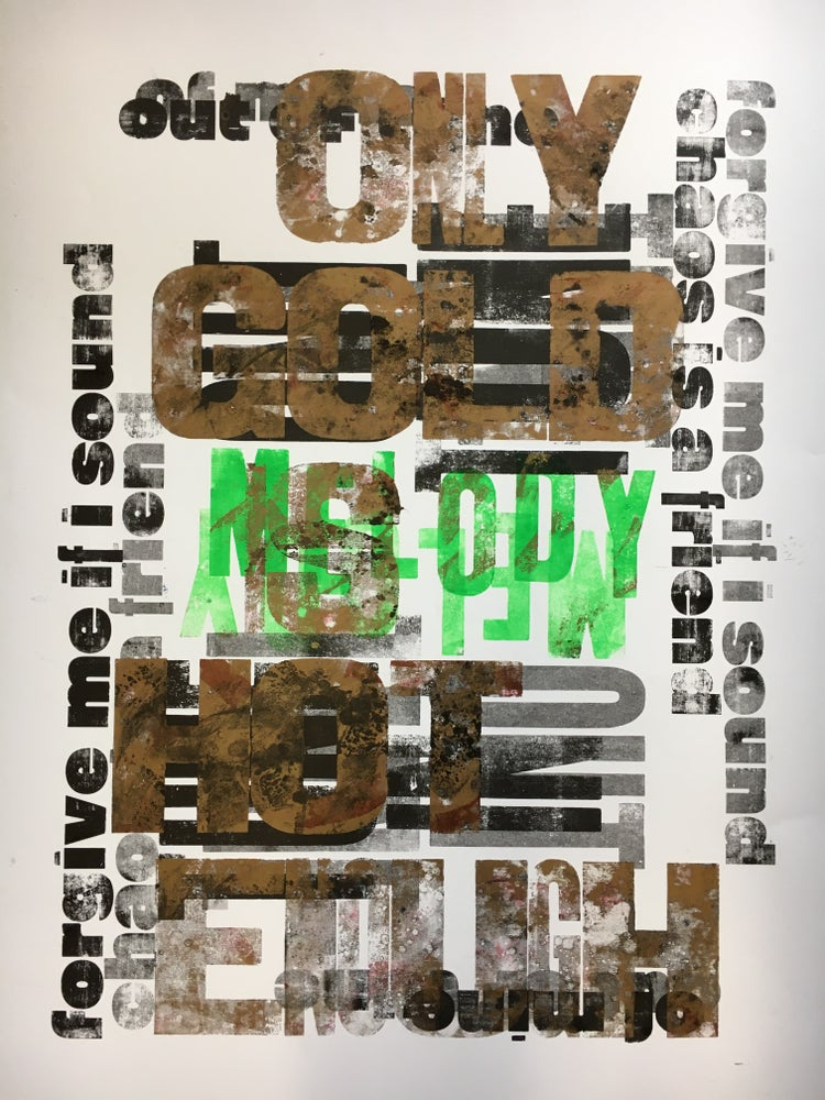 Image of One-off Typo Poster #1-055