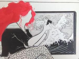 """Image of """"Unos mensajes y a la cama..."""" (Ilustración original)"""