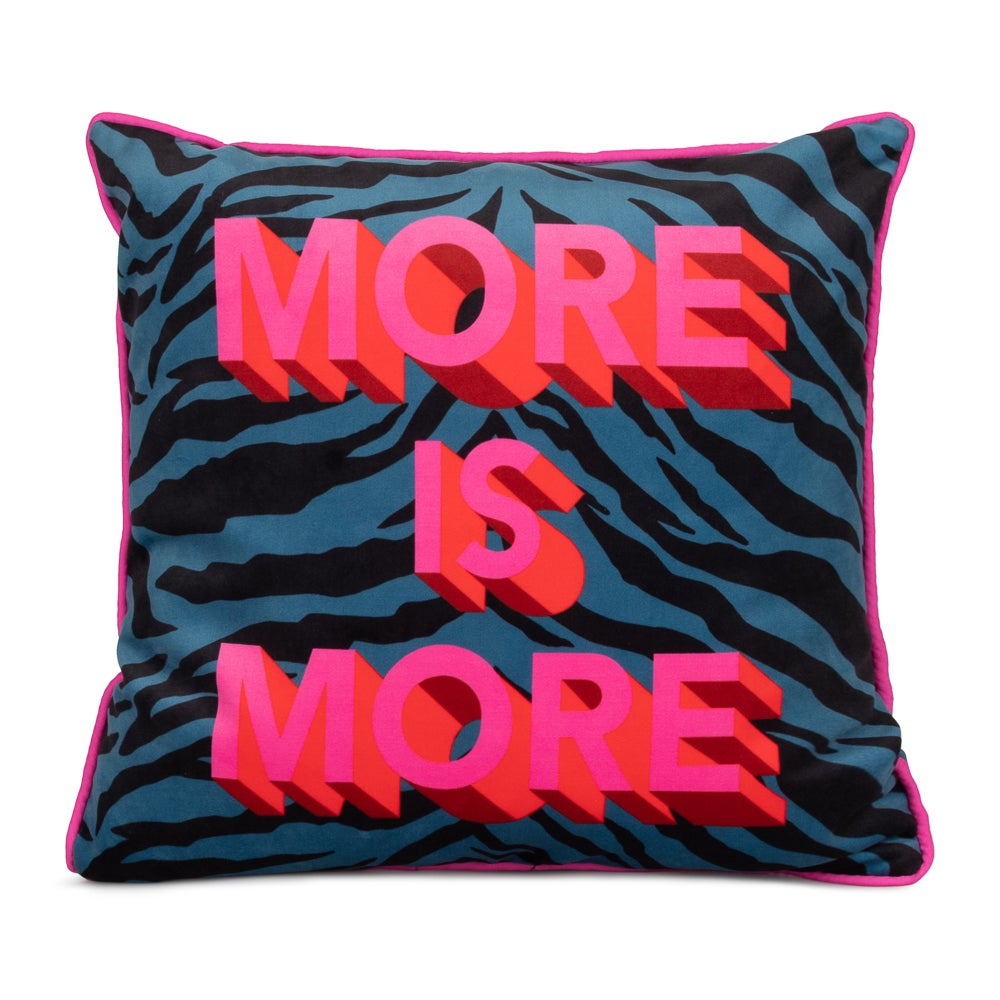 Image of MORE IS MORE cushion