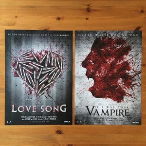 Image of Vampire + Love Song - Poster Bundle