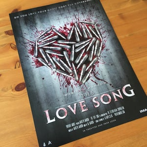 Image of Love Song Fan Poster