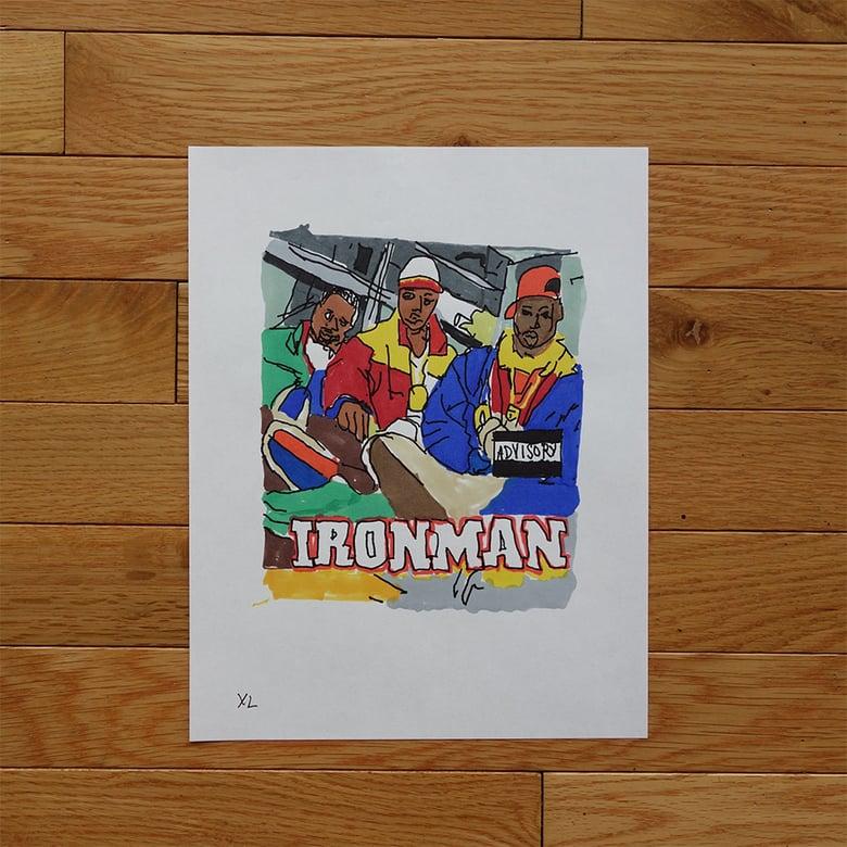 "Image of Yung Lenox ""Ironman"" Print"