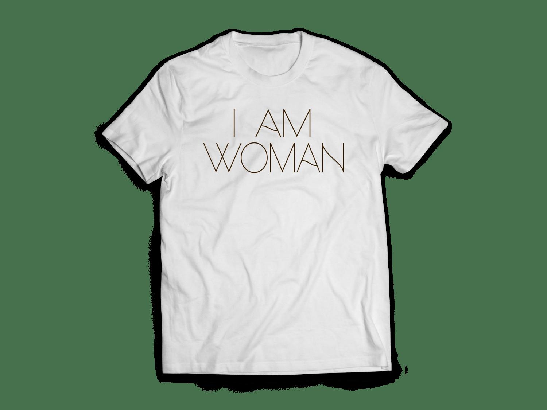 Image of I am woman tee