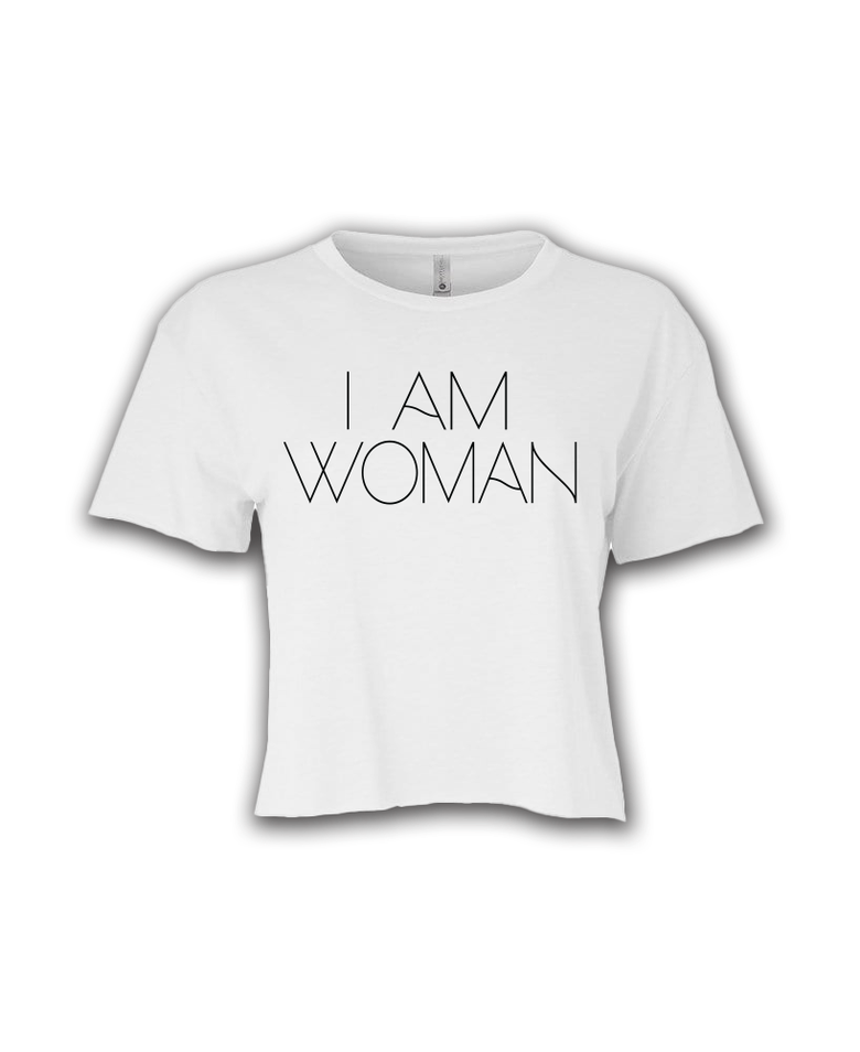 Image of I am woman crop