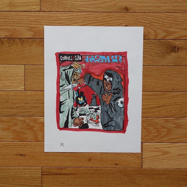 "Image of Yung Lenox ""Liquid Swords"" Print"