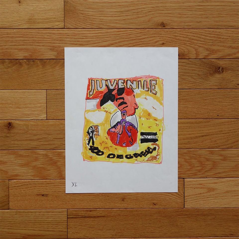 "Image of Yung Lenox ""Juvenile"" Print"
