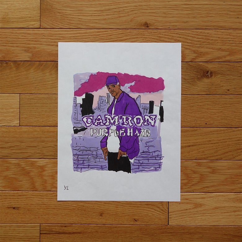 "Image of Yung Lenox ""Purple Haze"" Print"