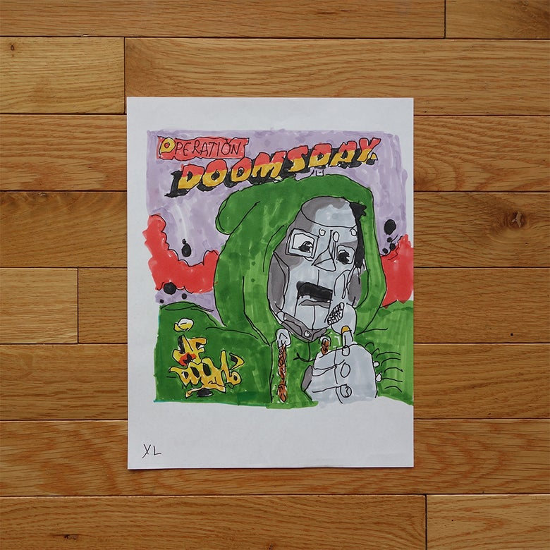 "Image of Yung Lenox ""MF Doom"" Print"