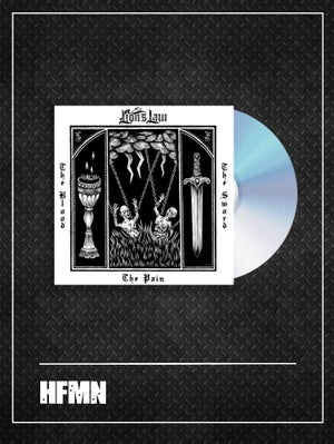Image of PRE-ORDER / LP + PROMO FLEXI DISC / THE PAIN, THE BLOOD AND THE SWORD