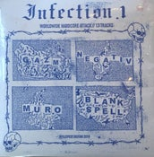 "Image of BLANK SPELL / MURO / NEGATIV / GAZM ""Infection 1"" 2xEP"