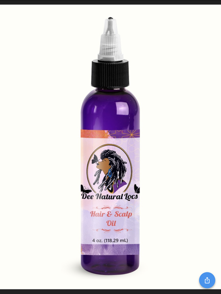 Image of Hair and Scalp Oil