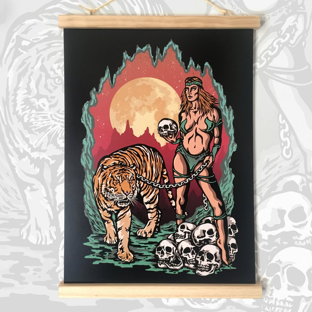 Image of Limited Edition Print - The  Tigeress
