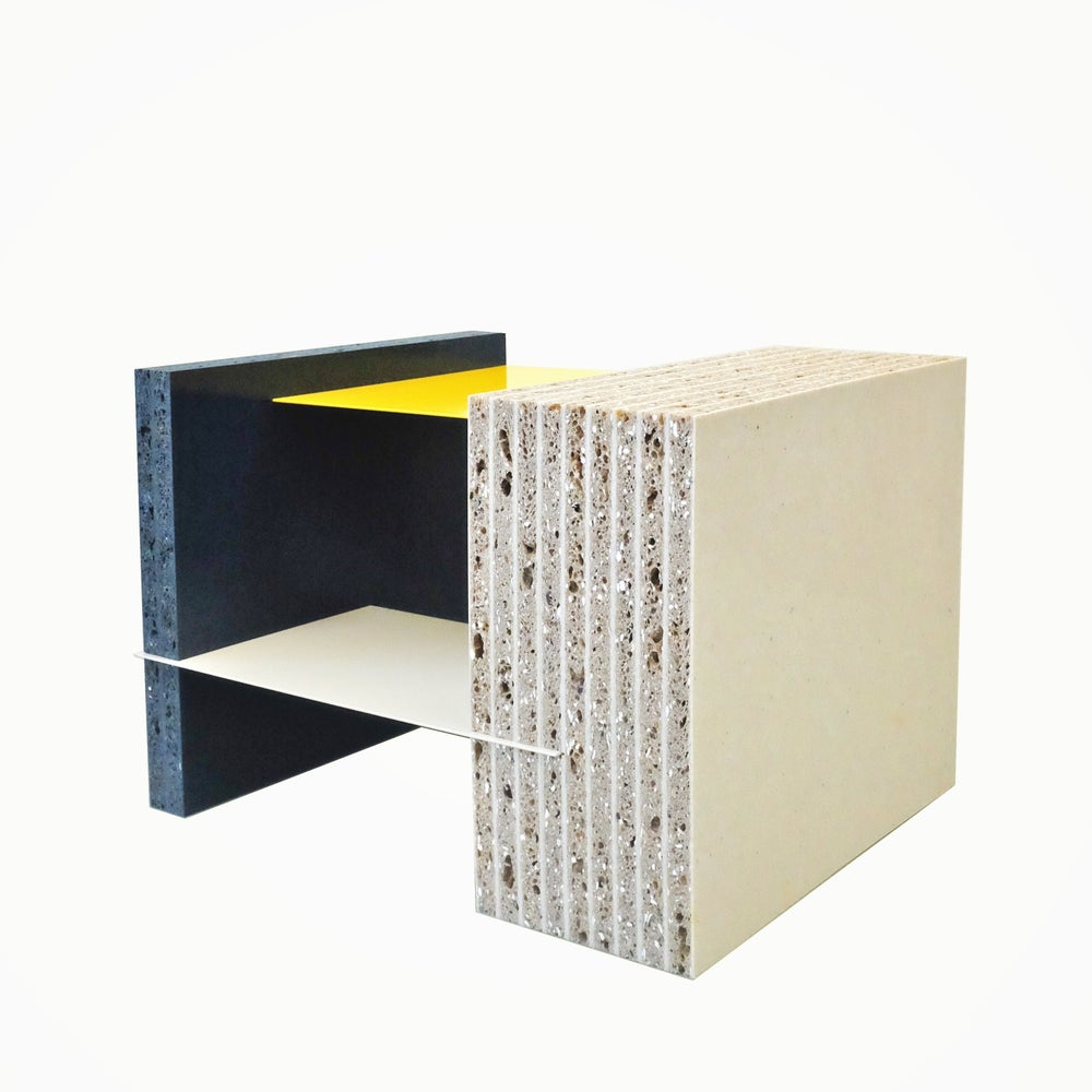 Image of Marfa Coffee Table in Recycled Plastic
