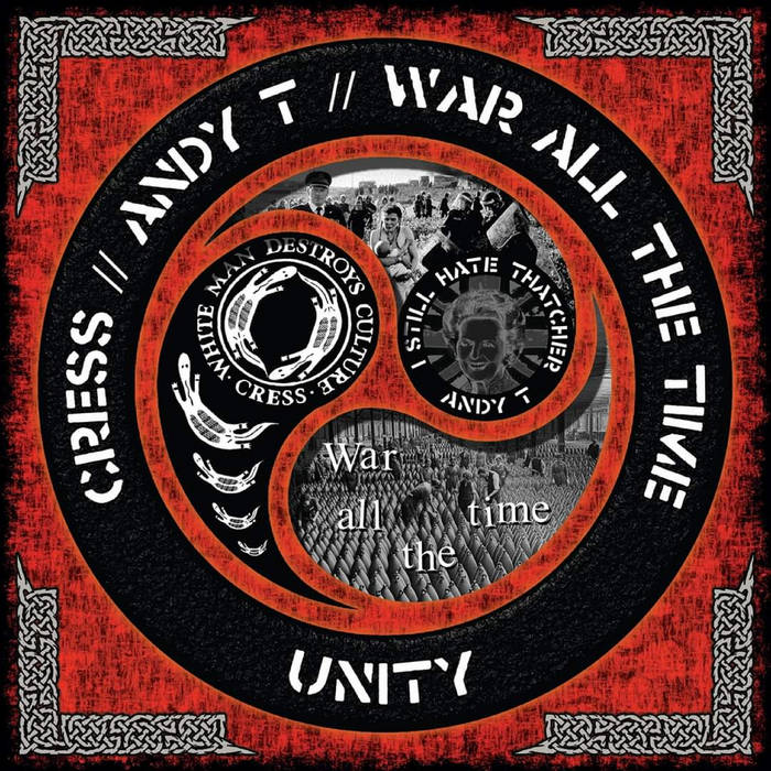 Image of CRESS / ANDY T / WAR ALL THE TIME - UNITY SPLIT LP