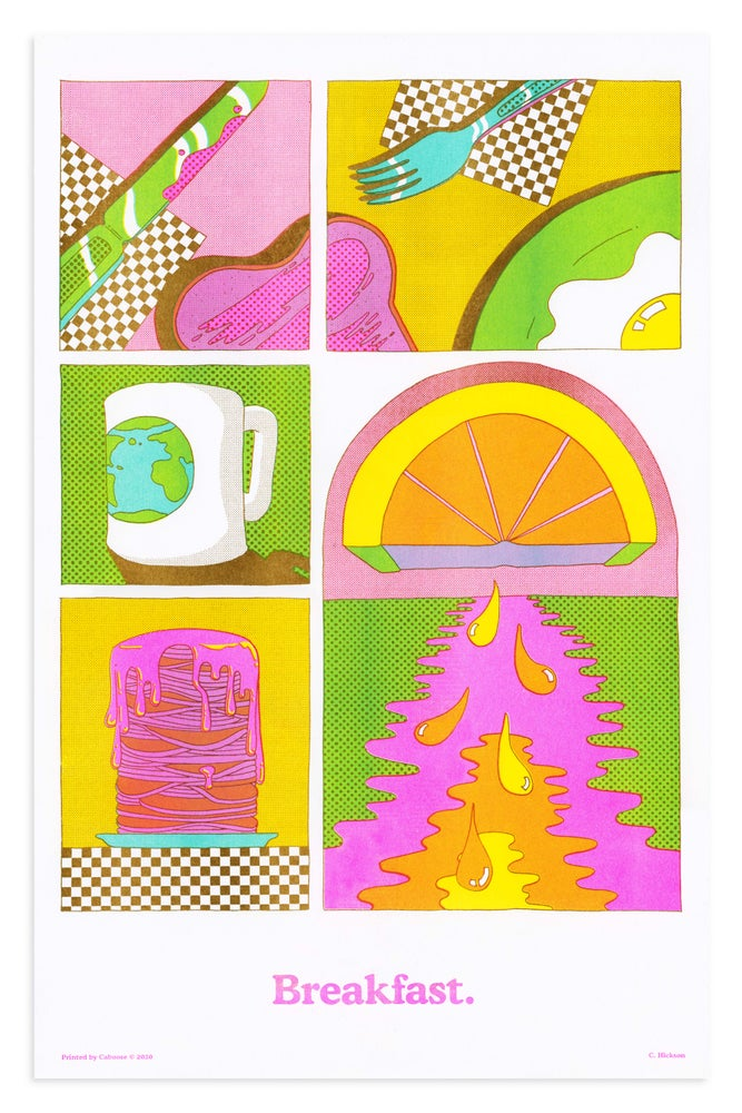 Image of Breakfast Print - Third Edition