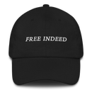 Image 1 of Free Indeed - Dad Hat - (Black & Sand)