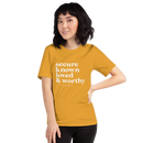 Image 2 of Secure Known Loved Tee - Mustard